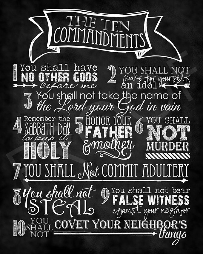 Florida pastor 10 commandments for dating my daughter