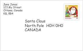 Canada Post letters to Santa - Don't forget to your child's letter to Santa in early so she/he will receive a response before Christmas Day.