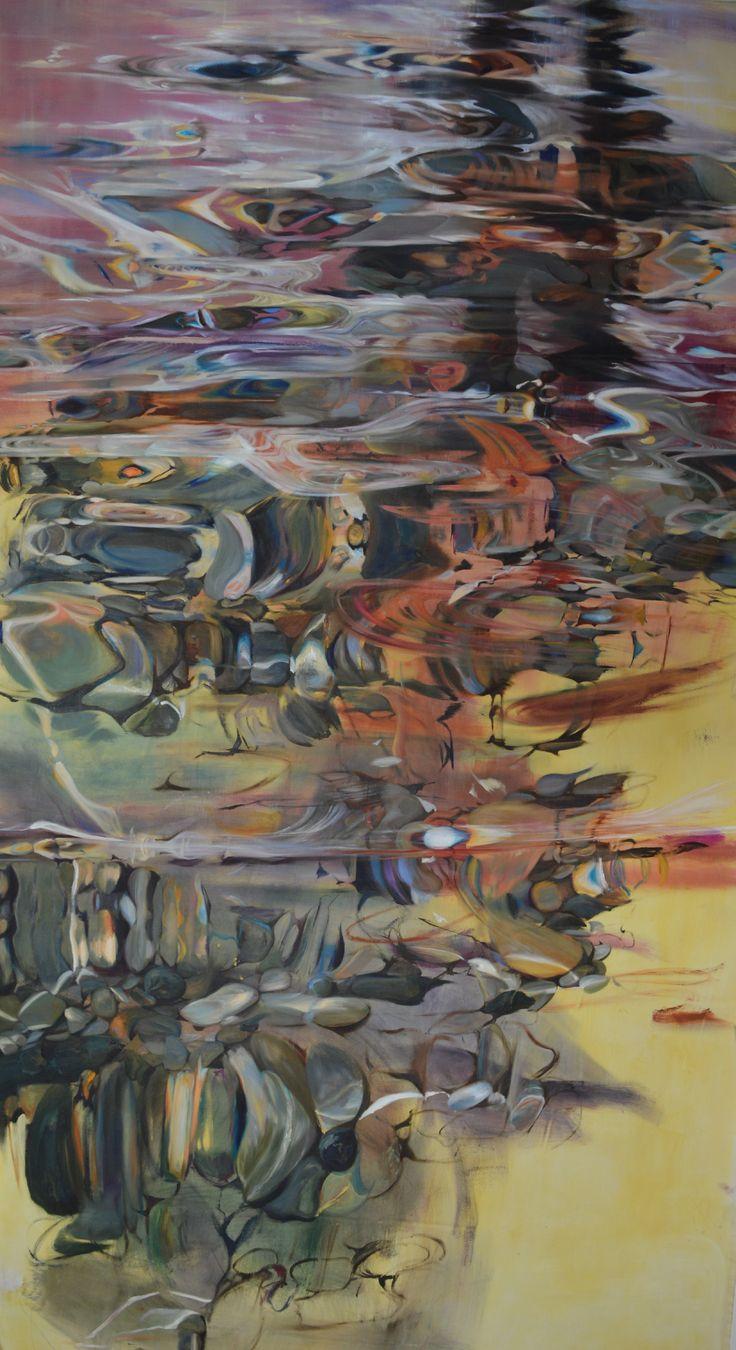 360cm x 180cm, oil on canvas