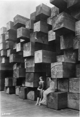 Timber Chicks early 1900s. Long Bell Saw Mill. Longview, Washington