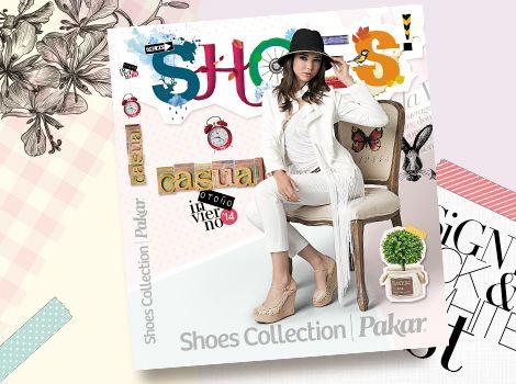 Catálogo Casual Shoes Collection Pakar Otoño- Invierno 2014.