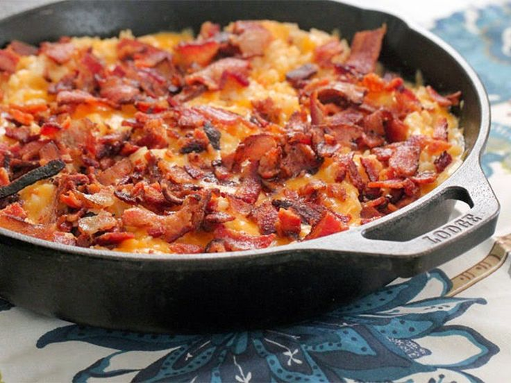tromaktiko: Ριζότο φούρνου με σάλτσα τυριού, κοτόπουλο και μπέικον