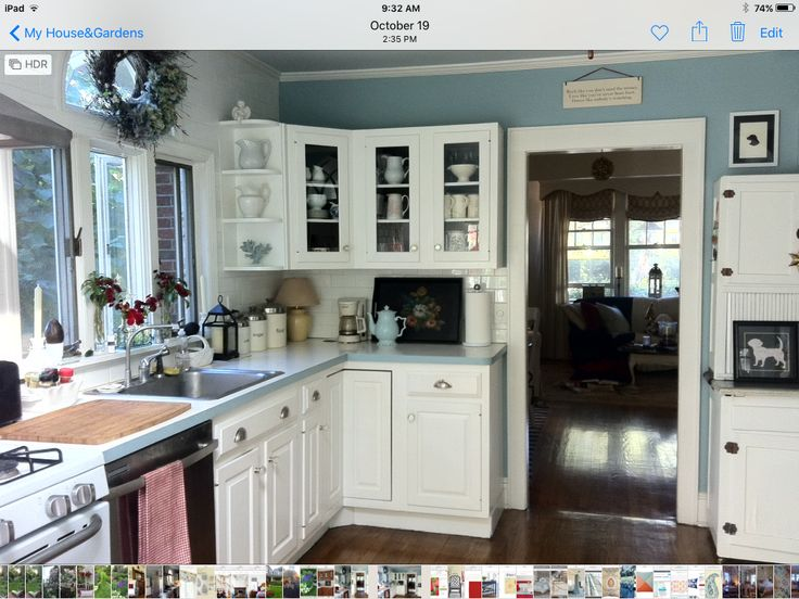 150 best images about kitchens on pinterest house of for Benjamin moore pristine