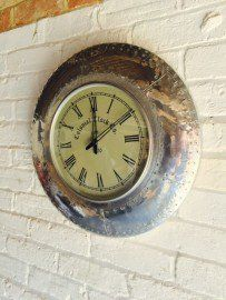 Vintage Aviator Clock