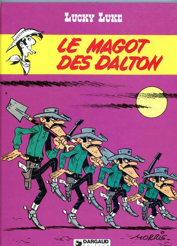 goscinny -  morris - lucky luke - le magot des dalton TBE EO 1980 bdm 15/20 €