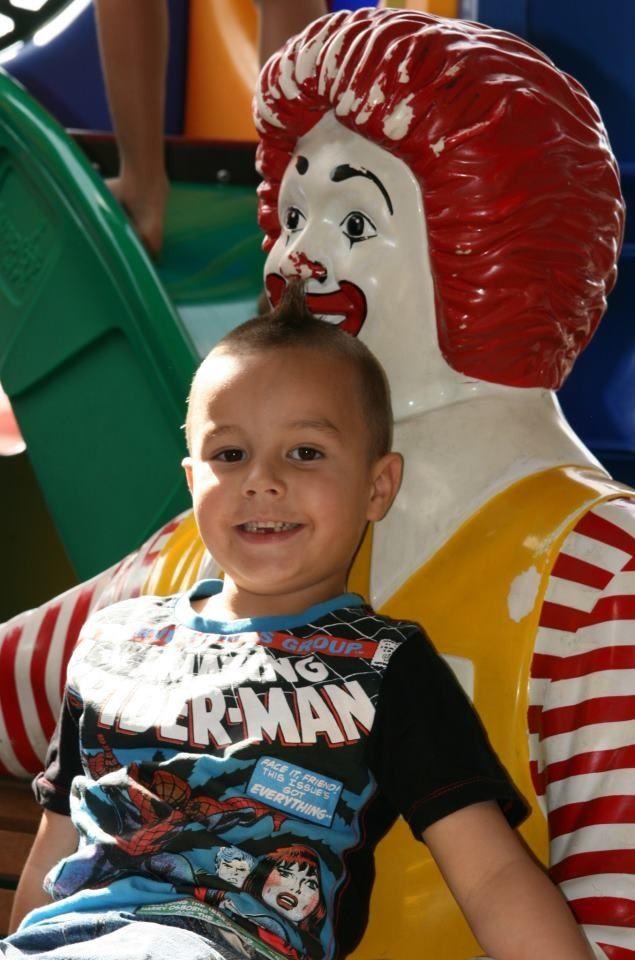 McDonalds Kids Birthday Party