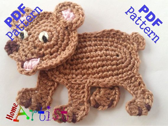 This is an -INSTANT DOWNLOAD- pattern of a cute Bear. Skill level: easy.  The…