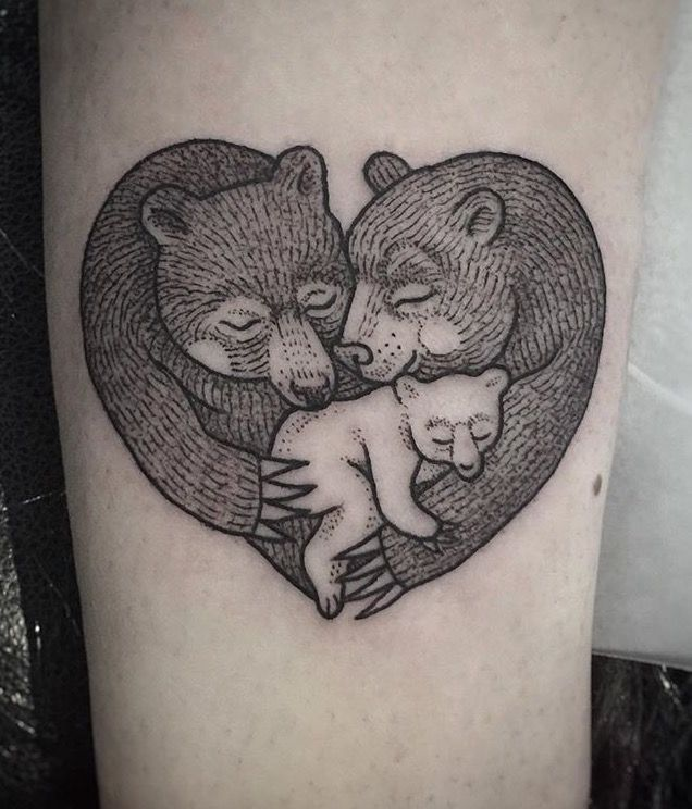 Susanne konig bear tattoo