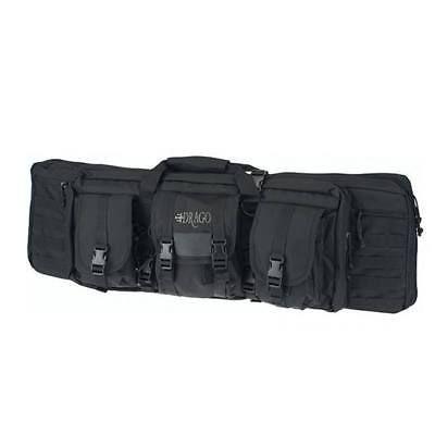 """Drago 36"""" Single Tactical Gun Case 600D Polyester Black 12302Bl"""