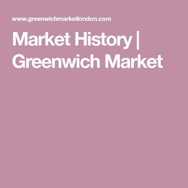 Market History | Greenwich Market