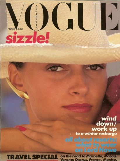 Isabella Cowan - Vogue Aust 80's