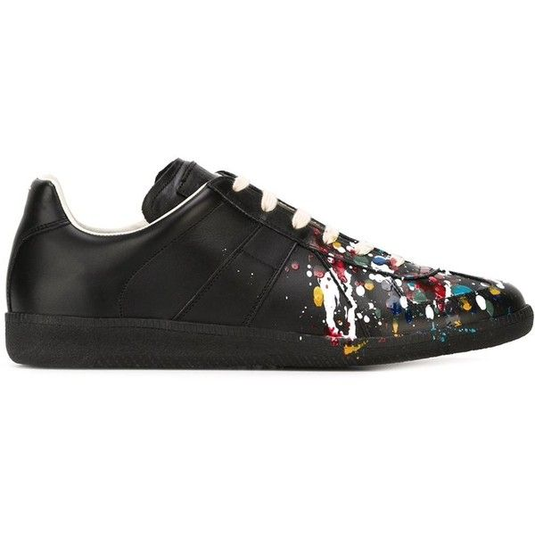 Men's Designer Trainers ❤ liked on Polyvore featuring mens, men's shoes and men's sneakers