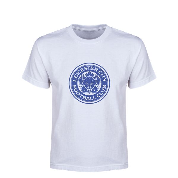 Leicester City FC Youth T-Shirt (White)
