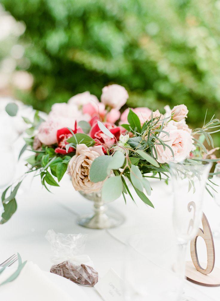 1531 best weddings flower arrangements images on pinterest wedding chic backyard garden wedding at their family home garden wedding centerpieceswedding flower junglespirit Image collections