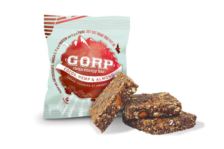 The Great GORP Project's NEW GORP BAR Proudly made on the Canadian prairies! You get 1 tsp of ground flax and 2 tsp of raw hemp in every GORP bar! Along with 11 grams of (non-bloating!!) protein and 6 grams of fiber, leaving you feeling energized for hours! FUEL FOR YOUR NEXT ADVENTURE! Booth Number: #626 www.gorpworld.com #OASCalgary