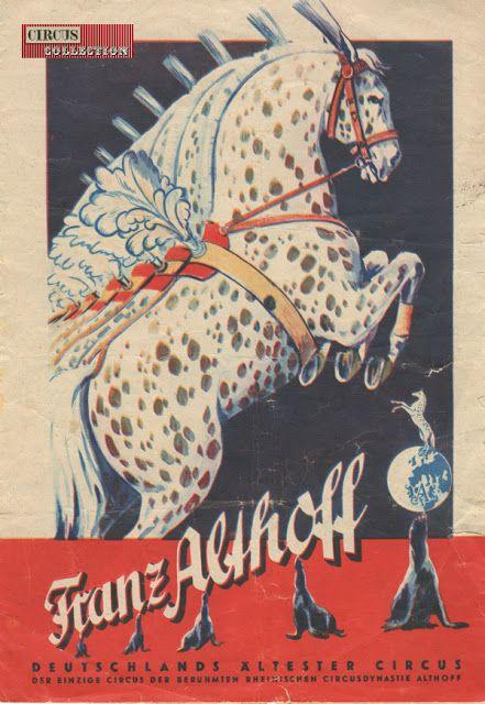 Circus collection: Franz Althoff Circus 1959
