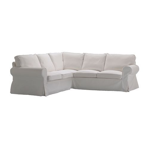 EKTORP Corner sofa 2+2 IKEA Easy to keep clean with a removable,machine washable cover. $799