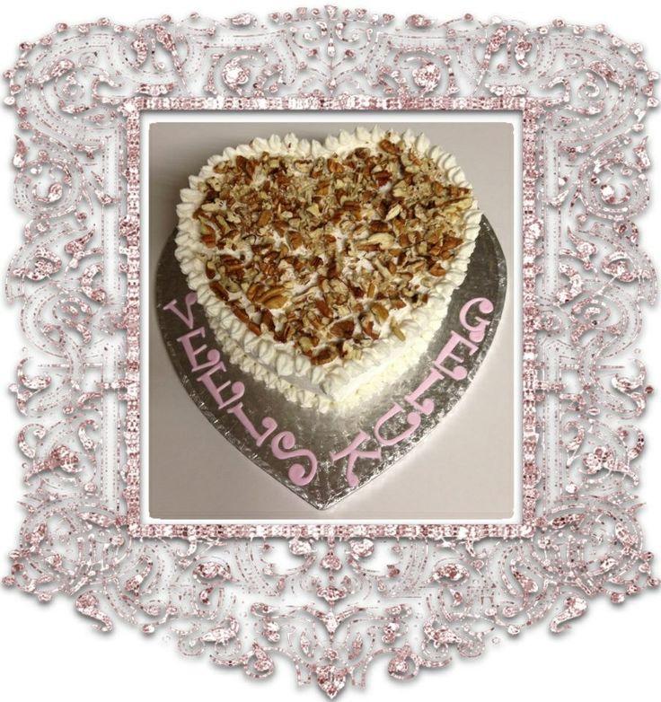 Heart Carrot Cake