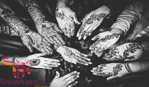 تفسير الحناء في المنام للمتزوجة والحامل وللرجل 2 Indian Wedding Henna Wedding Henna Tattoo Wedding Henna