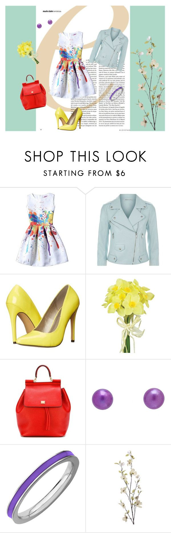 """Jaro je tady"" by vvejrkova on Polyvore featuring мода, Rebecca Minkoff, Michael Antonio, Pavilion Broadway, Dolce&Gabbana, Don't AsK и Pier 1 Imports"