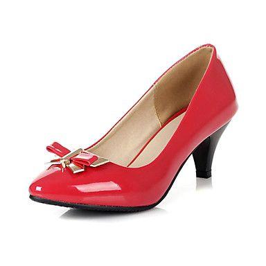 Verbazingwekkende+lakleder+naaldhak+puntige+teen+met+strik+feest+/+avond+schoenen+(meer+kleuren)+–+EUR+€+28.87