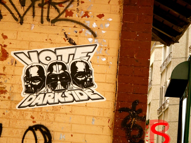 Dark side of the force :=)