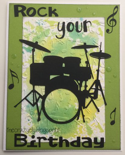 thecrazyely: Rock your birthday card