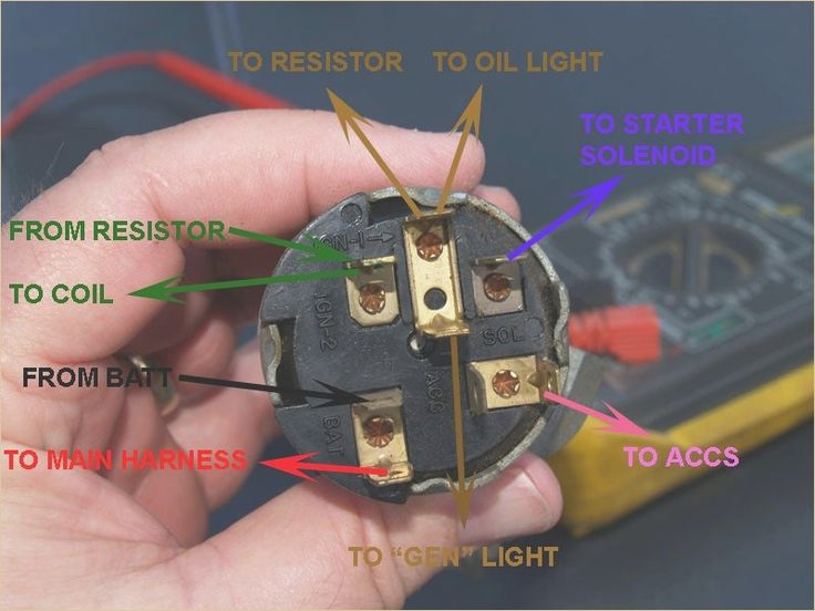 Image Result For 55 Chevy Ignition Switch Wiring Diagram Pdf