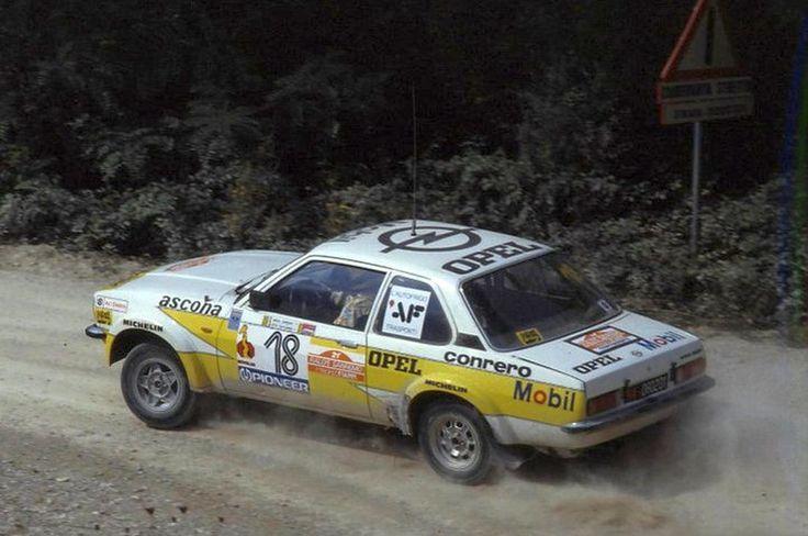 San Remo 1979 - Cerrato Dario - Guizzardi Luciano icon Opel Ascona B