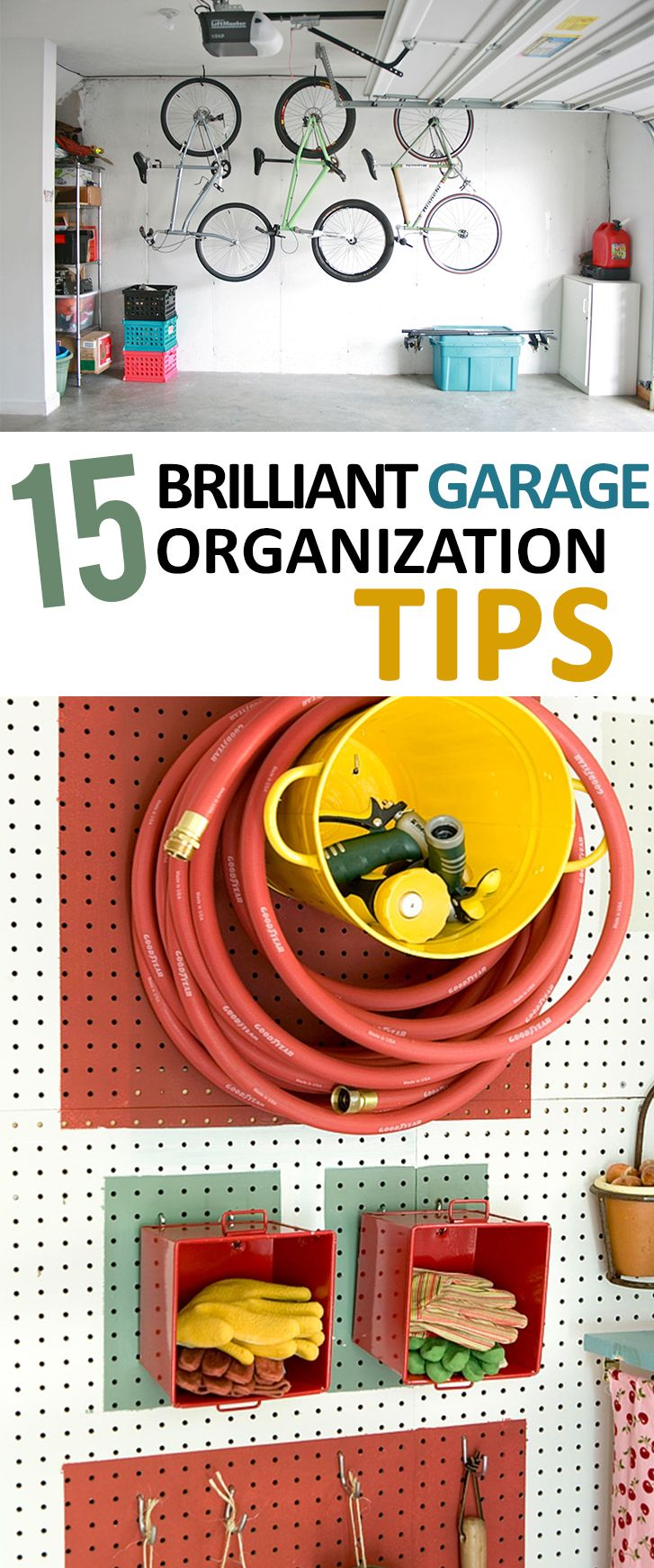 Garage organization tips new home designs the best garage - 15 Genius Garage Organization Ideas