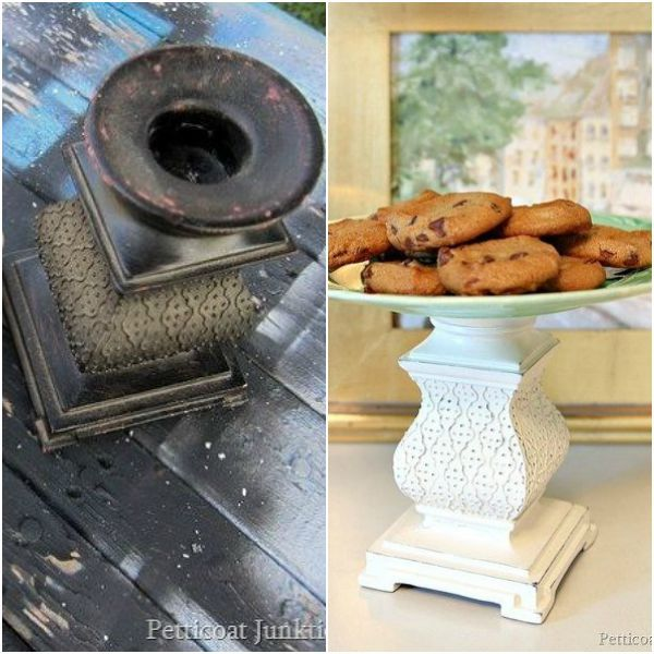 s 13 brilliant things you can make from common thrift store finds, crafts, repurposing upcycling, From a Clunky Candle Holder