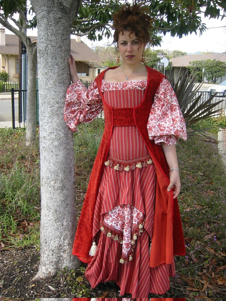 Medieval Tribal Gypsy Clothing Moroccan Gypsy Tribal