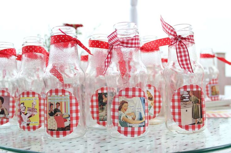 Retro Housewife party Bridal/Wedding Shower Party Ideas | Photo 1 of 20 | Catch My Party