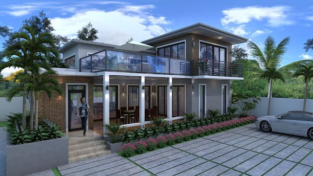 Two Storey Rest House Design Cool House Concepts Beach House Design Rest House Villa Design