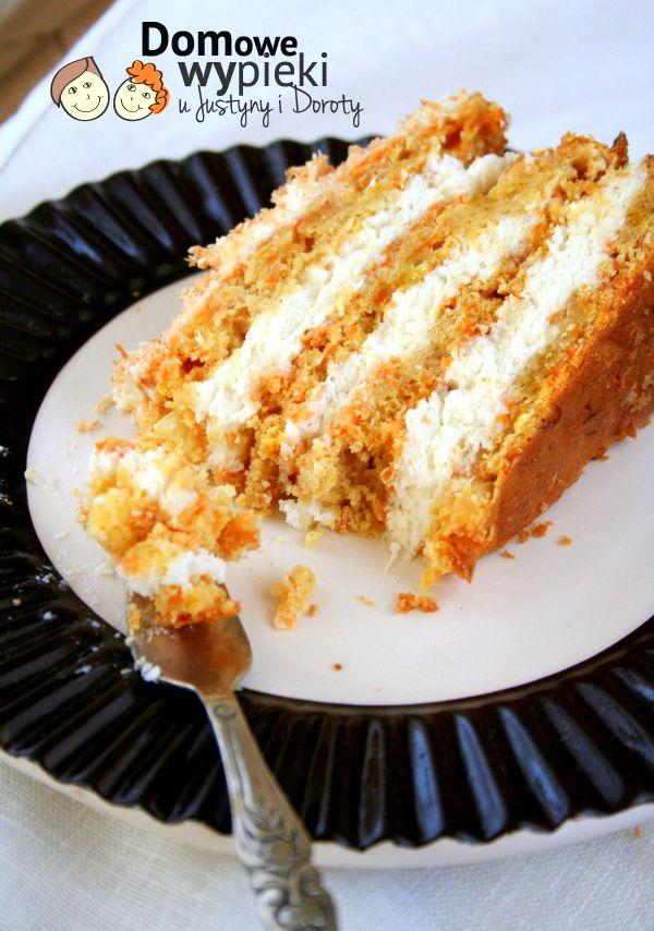 Hawajski tort marchewkowy | Domowe Wypieki u Justyny i Doroty