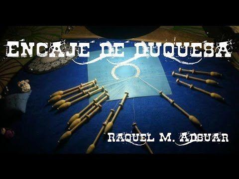Técnica de Duquesa : Encaje de Bolillos - YouTube