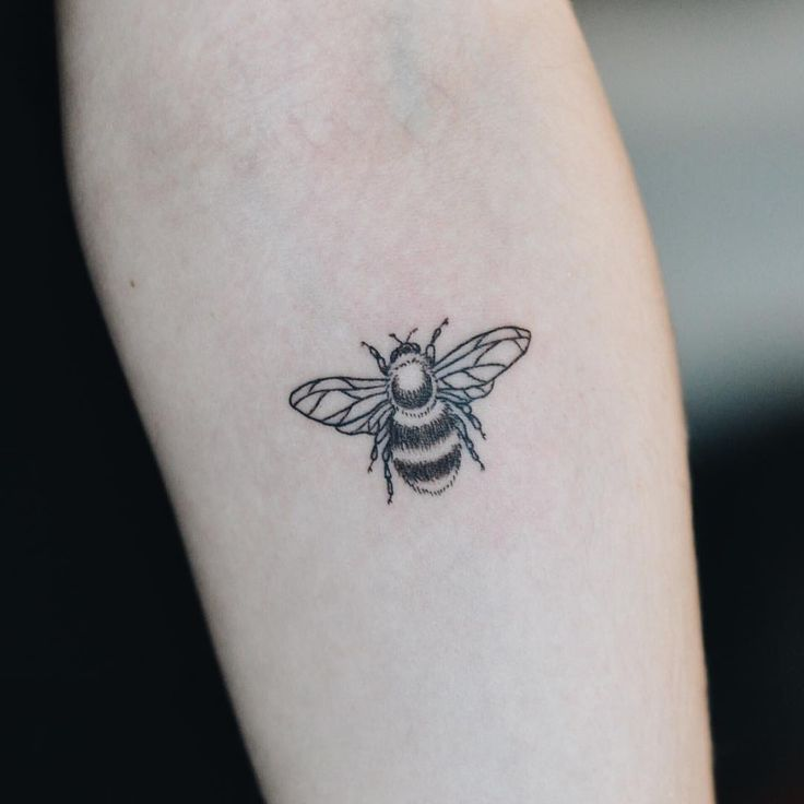 ... Bee Tattoo on Pinterest | Bumble bee tattoo Honey bee tattoo and Bee
