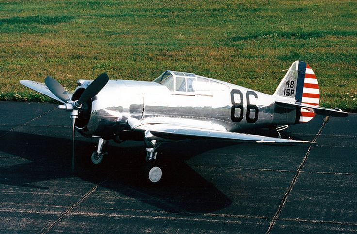 Curtiss P-36A Hawk - Fighter