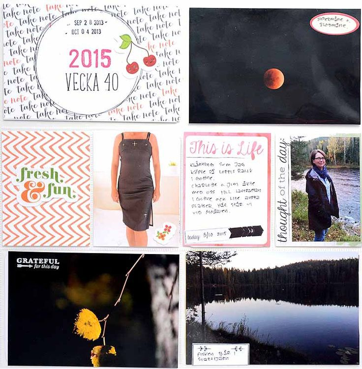Project Life vecka 40, part 1 by Helen