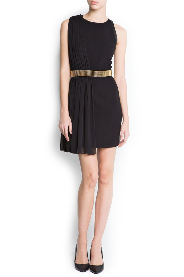 #MANGO #black #dress #Labelsshop
