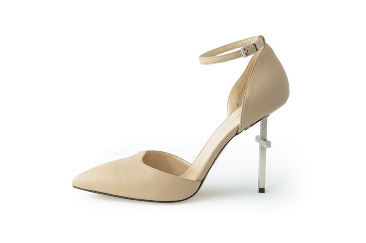 Lamperti Milano Salvation Pump nude nappa leather