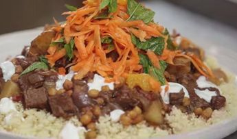 Jamie Oliver Moroccan spiced beef tagine recipe on Jamie's Money Saving Meals