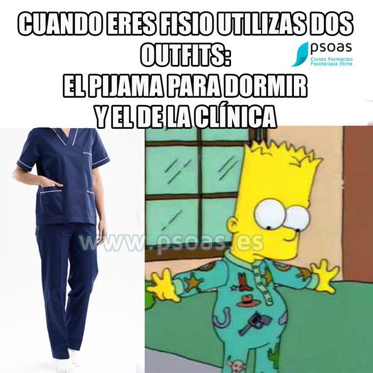 #memes #fisioterapia #pijama #bart #simpsons