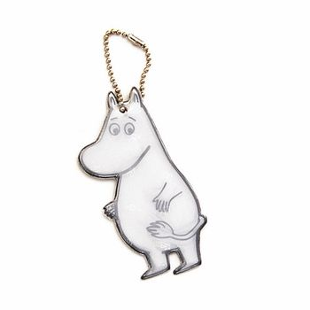 A cute way to make sure you and your child are visible in the dark. Attach it to a coat zipper, pocket, or backpack. Glimmis Moomintroll Reflector - $7.95
