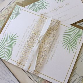 Elegant Wedding Invitation (St. John)
