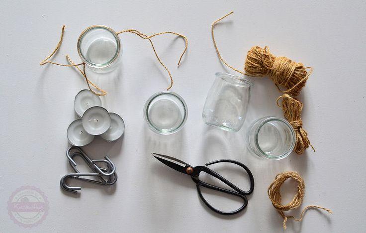 jak zrobić lampiony ze słoika DIY