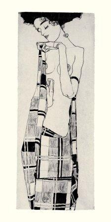 Gerti Schiele Affiches par Egon Schiele sur AllPosters.fr