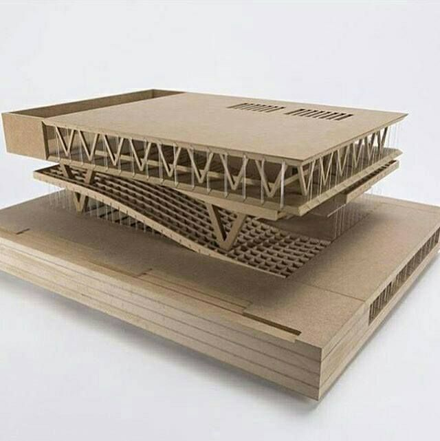 Fascinated by Wooden Architecture Models – Architecture Admirers