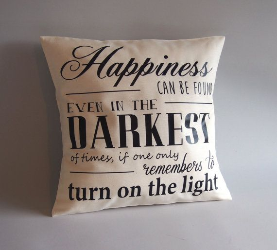 Harry Potter pillow - Harry Potter Cushion - 16x16 18x18 20x20 24x24 - Dumbledore quote pillow -