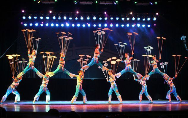 Chinese Acrobatic Show Beijing